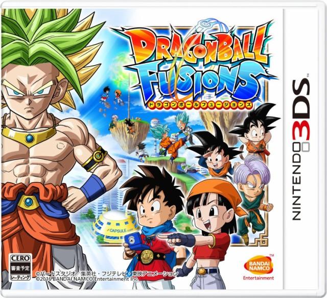 【送料無料(ネコポス)・取寄せ商品(当日~)】3DS ドラゴンボールフュージョンズ  020768