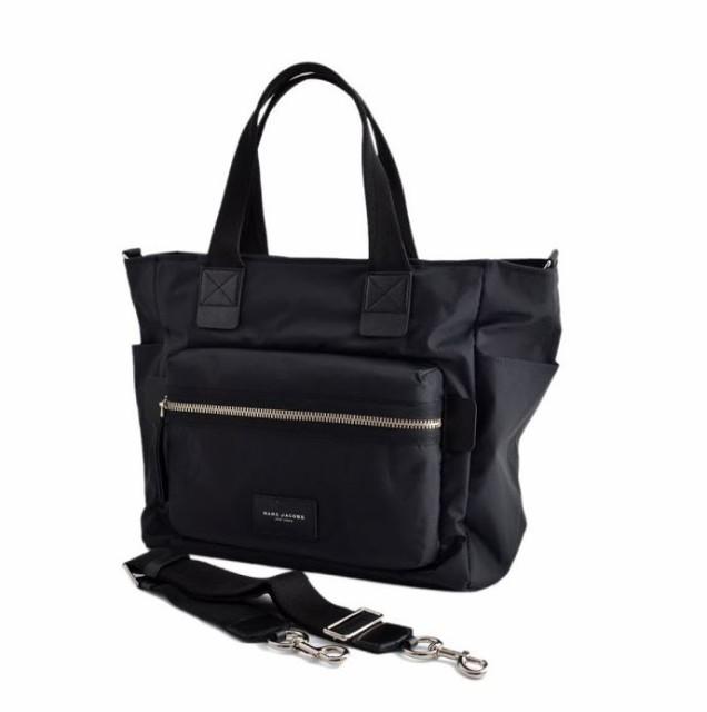 マークジェイコブス MARC JACOBS M0008297 001 Black ナイロン マザーズバッグ 2WAY ショルダー オムツ換えシート付 Nylon Biker Babybag