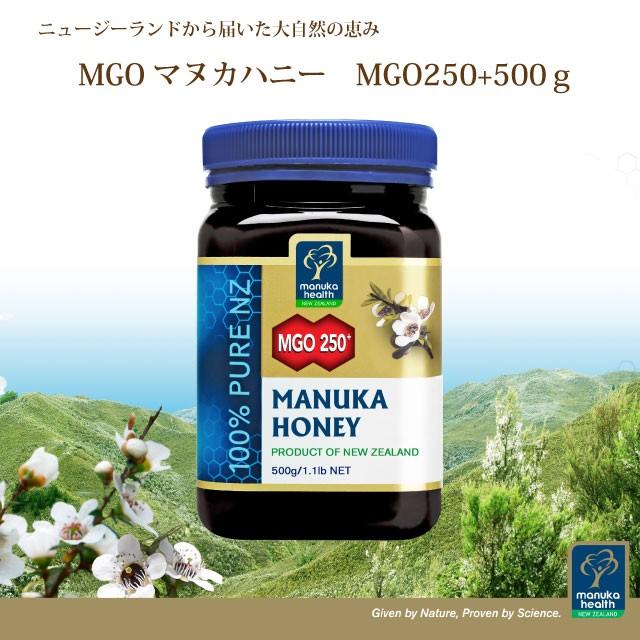 ◆マヌカハニーMGO250+ 500g◆(ハチミツ/はちみつ/蜂蜜/マヌカ/中間レベル/コサナ)
