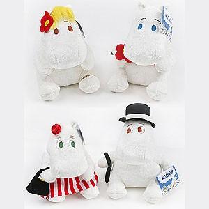 先払いのみ)海外アニメグッズ Moomin(ムーミン) ぬいぐるみ ムーミン / フローレン