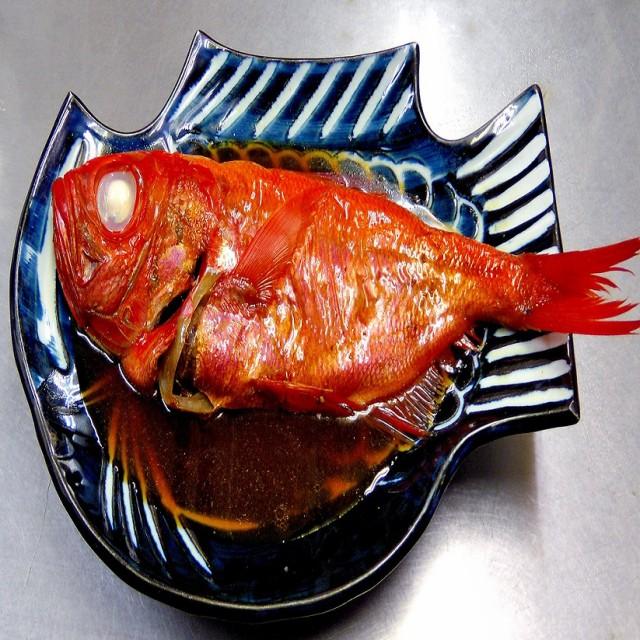 小田原 鮑屋の金目鯛姿煮 2尾セット 送料無料 金目鯛の煮付け
