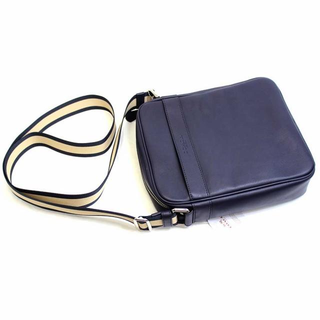 [あす着]コーチ COACH バッグ ショルダーバッグ 斜め掛け ミッドナイトブルー メンズ アウトレット f71723mid