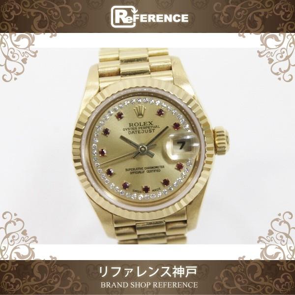 super popular b8222 7160d あす着 ROLEX ロレックス デイトジャスト レディース腕時計 K18YG 79178LR K番 ギフト プレゼント|au Wowma!(ワウマ)