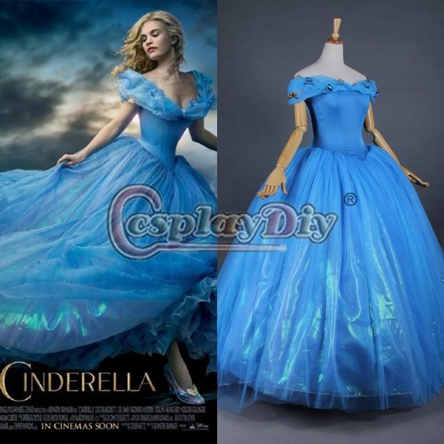 高品質 高級コスプレ衣装 映画 ディズニー シンデレラ 風 ドレス オーダーメイド Cinderella dresses for Frozen  princess |au Wowma!(ワウマ)
