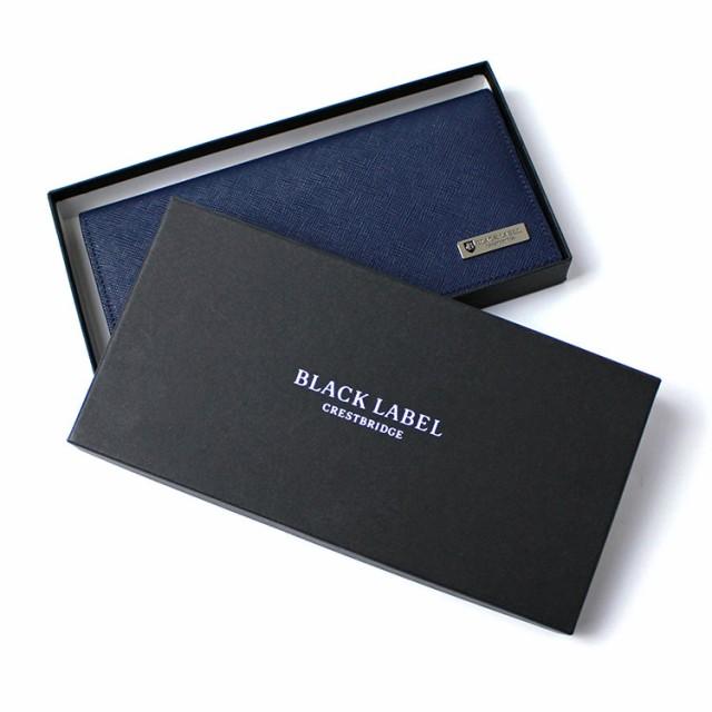 ブラックレーベル BLACK LABEL CRESTBRIDGE クレストブリッジ プリズムレザー ロングウォレット 全6色
