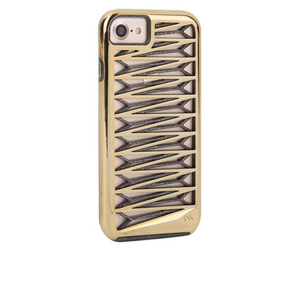 iPhone7 Case-Mate(ケースメイト) 「Tough Layers Kite Case Gold (シアーグラムノワール)」 カバー ケース