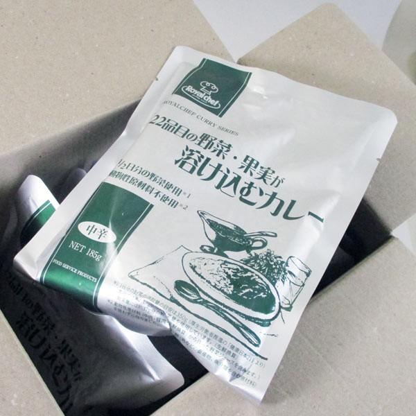 『送料無料』UCCロイヤルシェフ 22品目の野菜・果実が溶け込むカレー 185gx10食分