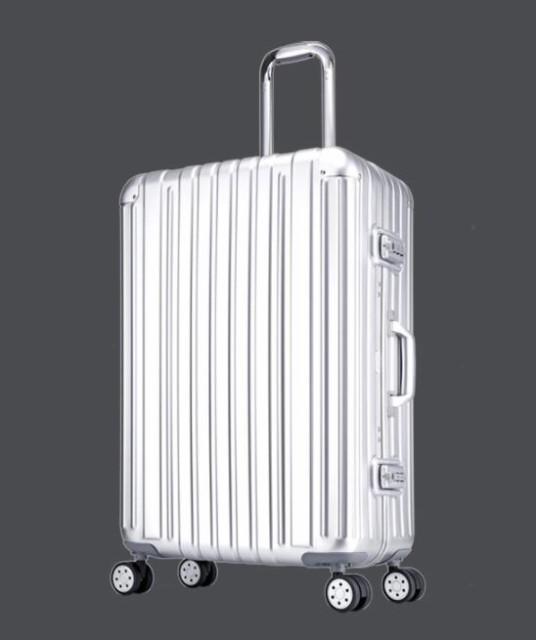 全金属!Lサイズ29インチ新品スーツケース 旅行用品 キャリーバッグ scs-48 アルミ