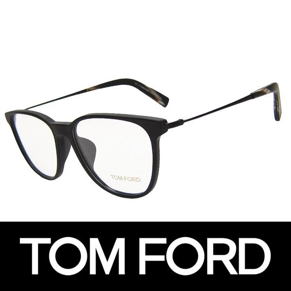 TOM FORD トムフォード だてめがね 眼鏡 伊達メガネ サングラス アジアンフィット FT5384F 002 53 (58)