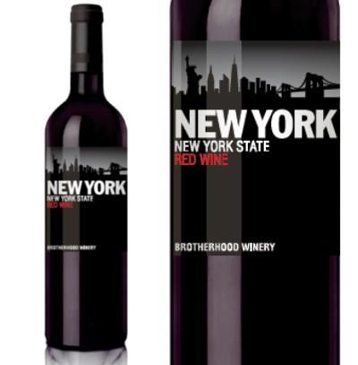 ブラザーフッド ニューヨーク レッド NV 750ml (Brotherhood New York 赤ワイン アメリカ ニューヨーク ミディアムボディ)