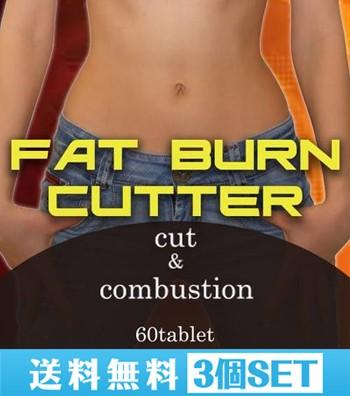 【送料無料☆3個セット】ファットバーンカッター/サプリメント ダイエット 美容 健康 スリム ダイエットサポート