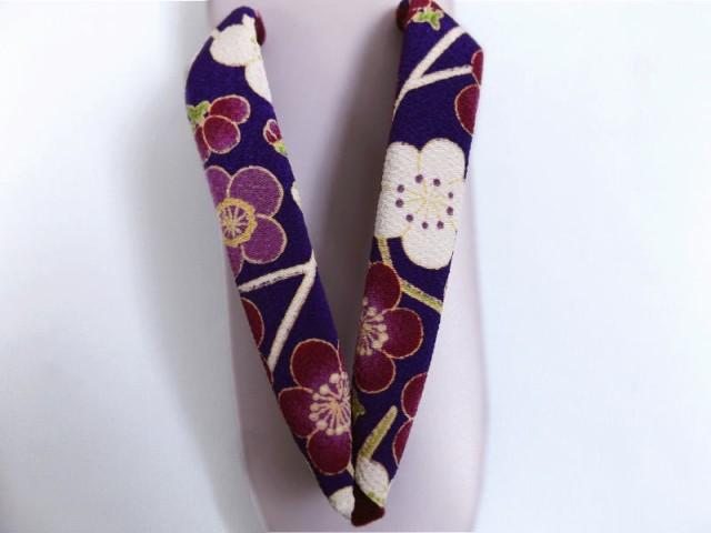 はんなり柄草履ぞうり淡紫台紫色地梅枝フリー 着物&卒業式袴に