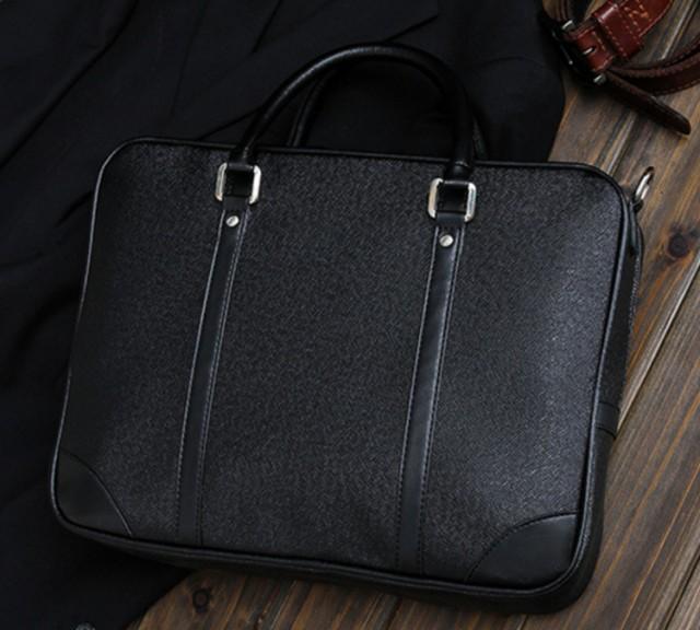 ビジネスバッグ トートバッグ ブリーフケースメンズ ハンドバッグ a4ファイル 大容量 軽量 出張 通勤 手提げ 2way ショルダー付