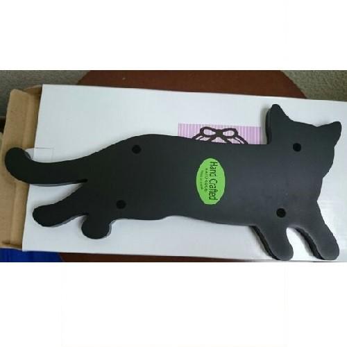 幸運の黒猫のペントレー☆ペン皿(MDF)