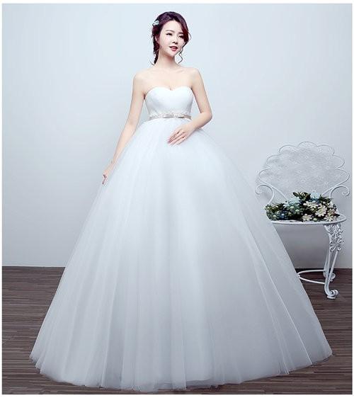 ホワイト妊婦ウエディングドレス ウェディングドレス ブライズメイド