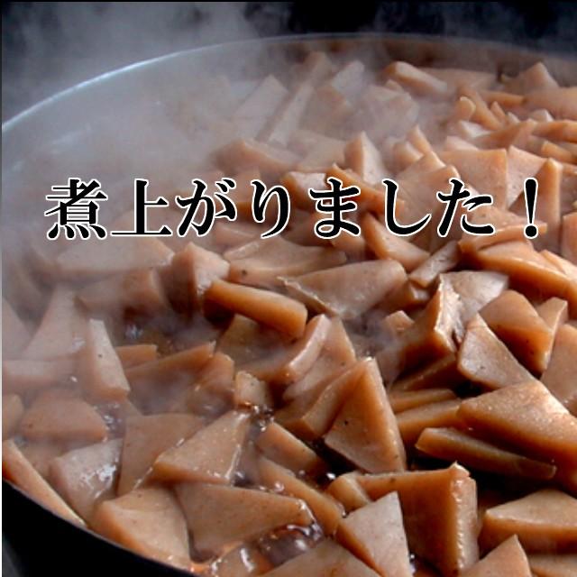 かつお出汁で、じっくりとピリ辛に煮込みました。冷たいままでも美味しい!当店人気のお惣菜!【量り売り100g/250円】