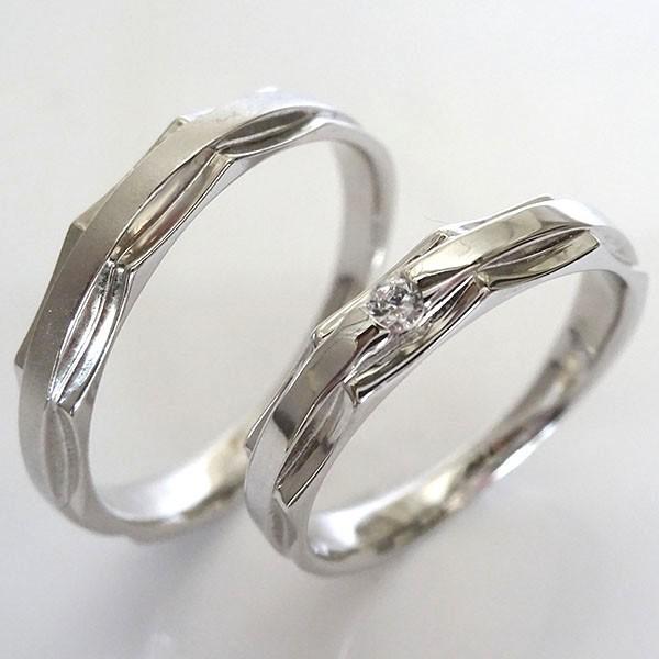 ラウンド  ダイヤモンド ペアリング ホワイトゴールドk10 ペアリング K10wg 2本セット 結婚指輪 マリッジリング 結婚指輪 K10wg ダイヤ 0.03ct, カメダグン:c220cbb3 --- chevron9.de