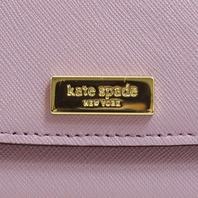 [あす着]ケイトスペード KATESPADE カードケース 名刺入れ レディース サフィアーノ レザー 本革 革 アウトレット wlru2668-595