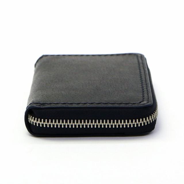 【ポイント10%】【即納・送料無料】NELD 財布 ネルド ラウンドファスナー 二つ折り財布 小銭入れあり FINE 革 メンズ レディース AN107