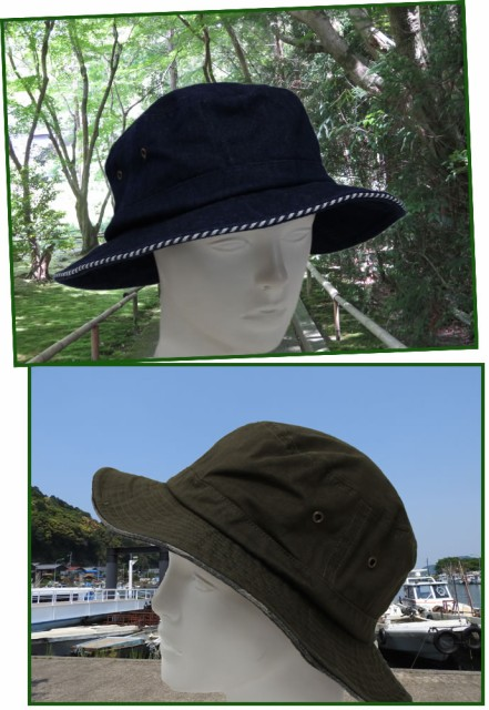 パイピングバケットハット (帽子 メンズ レディース アウトドア)