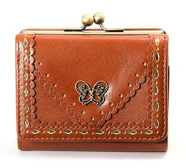 アナスイ ANNA SUI 財布 さいふ 三つ折り かぶせ 外がま 全4色