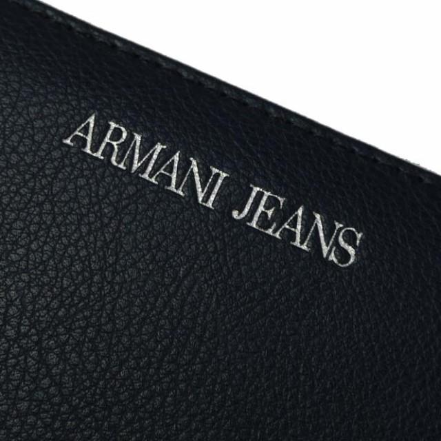 【セール 50%OFF!】ARMANI JEANS アルマーニジーンズ レディースラウンドファスナー長財布 928532 CC870 ネイビー