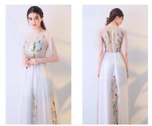 2017姫系 花嫁 二次会 披露宴 ウエディングドレス カラードレス ロング 二次会ドレス パーティードレス ロングドレス 演奏会 結婚式