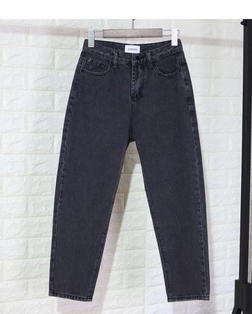 レディス 女性 ボトムス ズボン パンツ ハーレムパンツ 秋 カジュアル 大きいサイズ ジーパン 七分丈 ダメージ加工 ワイドパンツ 原宿風