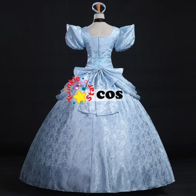 高品質 高級コスプレ衣装 ディズニー 風 シンデレラ プリンセス タイプ オーダーメイド ドレス customized cinderella costume
