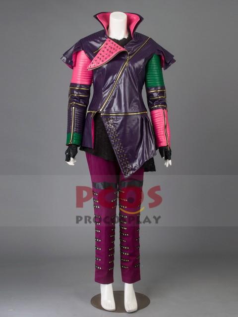 ホットセール 高品質 高級コスプレ衣装 眠れる森の美女 風 ディセンダントマル&マレフィセント タイプ Descendants Mal Cosplay Costume, 美浦村 d1b865ee