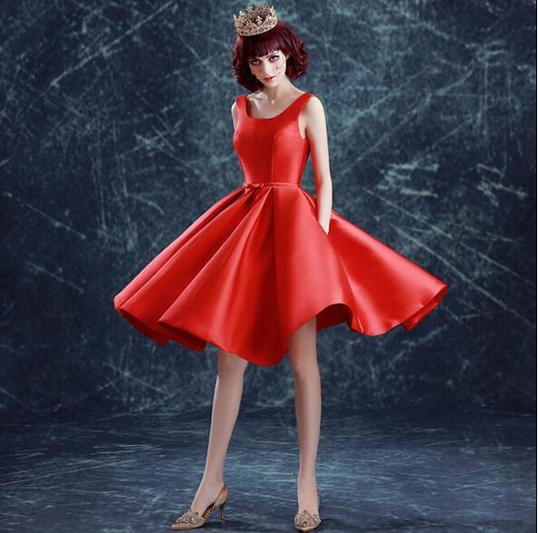 ウェディングドレス ミニ カラードレス 花嫁 二次会 ドレス 結婚式 コンサート演奏会 ワンピース パーティー