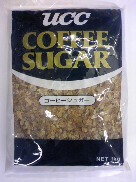 UCCコーヒーシュガー 1kg 砂糖 粗目