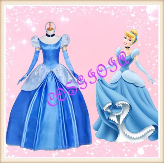 ディズニープリンセス disney princess cinderella シンデレラ コスプレ