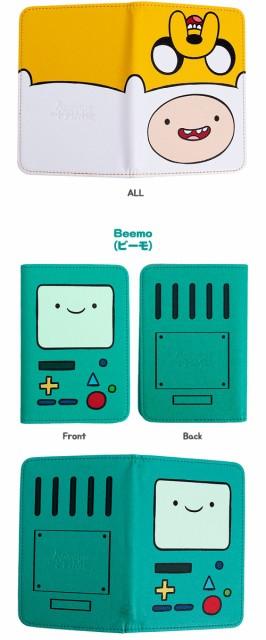 (先払いのみ)海外アニメグッズ Adventure Time(アドベンチャー・タイム) パスポート ケース カバー(4種1択)