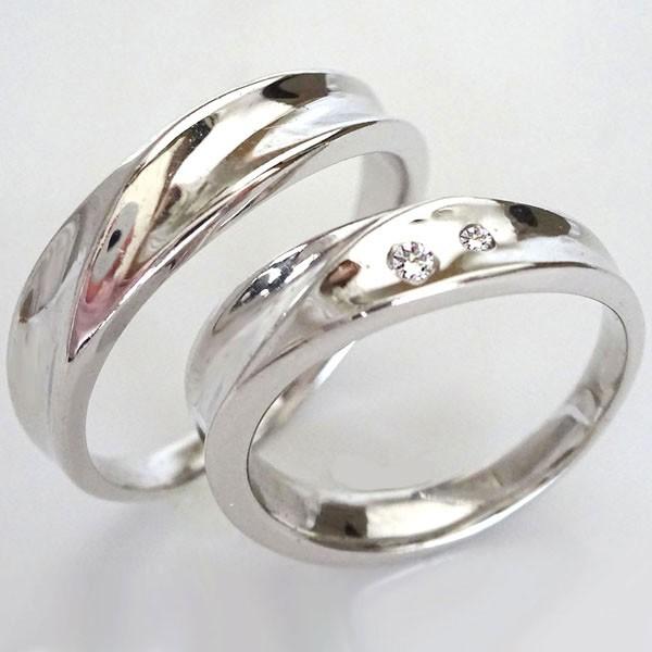 特別オファー ペアリング 2本セットK18wgダイヤ マリッジリング 0.03ct 結婚指輪 ホワイトゴールドk18 ダイヤモンド-指輪・リング