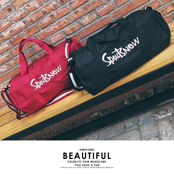 【SE】ロゴ入り ボストンバッグ 旅行ボストン 可愛い かわいい スポーツバッグ 2way 【予約】99MGXB-001