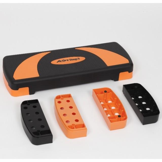 送料無料 健康器具 健康器具足  送料無料 アクティブステップ3 踏み台昇降運動 #870330