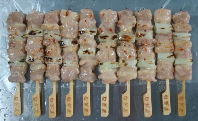 冷凍 炭火焼き鳥ネギマ串 塩ダレ 27g×50本入(1.35kg)業務用【肉】