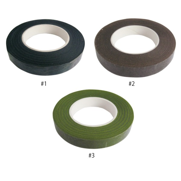 ファニーフローラテープ 12.5 【全11色】 < フローリストテープ/ 花束/ ラッピング/ 花屋さん>