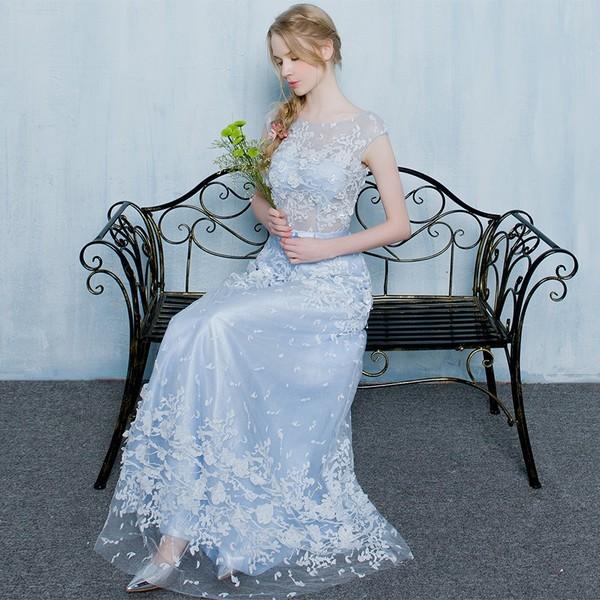ティードレス 演奏会 結婚式 イブニングドレス 二次会 花嫁 ロングドレス 発表会 カクテルドレス 清楚な  ハイエンド  エレガント