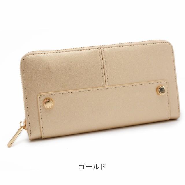 長財布 レディース 財布 かわいい おしゃれ ワチャマコリ wHAtcHaMaCaLLit ブラック 黒 ゴールド 小物