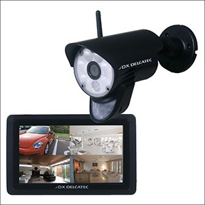 DXアンテナ 防犯カメラ ワイヤレス フルHD カメラ&モニターセット WSC610S 送料無料