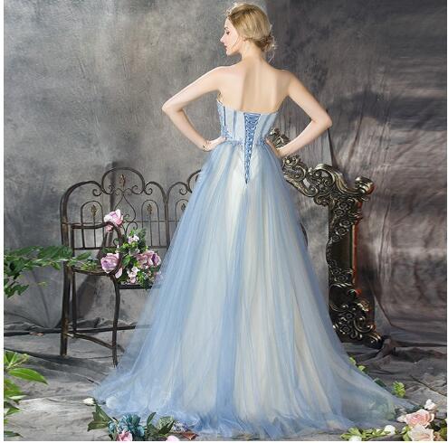 パーティードレス ロングドレス カラードレス 結婚式 ウェディングドレス ベアトップ 忘年会 着痩せ フォーマル 花嫁 ドレス