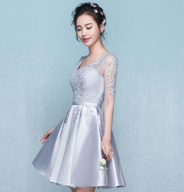 Aライン パーティドレス 結婚式 Aライン 大きいサイズ 二次会 ドレス オフショルダー 成人式 ドレス 同窓会 忘年会 お呼ばれドレス