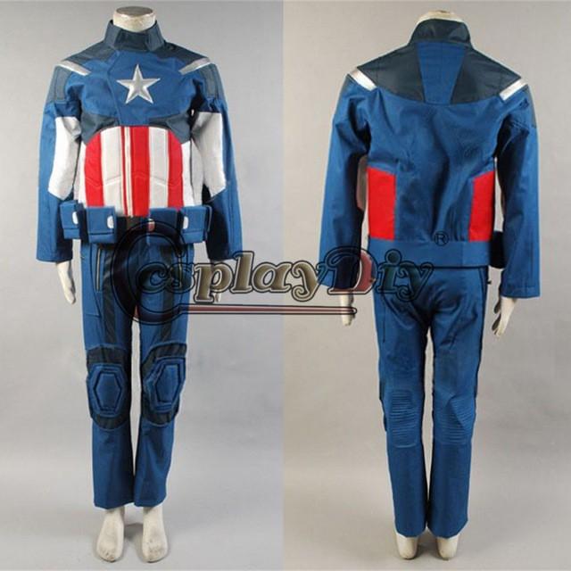 好きに 高級コスプレ衣装 風 アメリカ アベンジャーズ The New Pants for America Captain costume キャプテン 高品質 Avengers Set Jacket-コスチューム