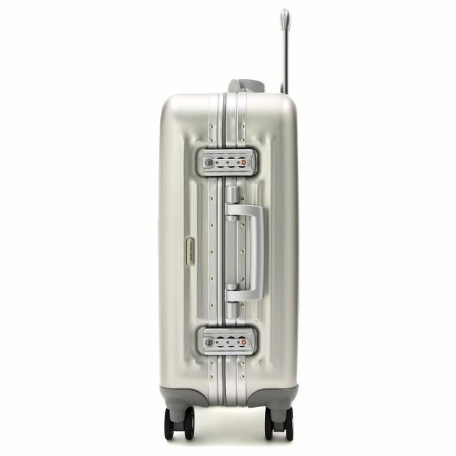 送料無料◆業界初?一枚成型アルミニウム4輪ハードキャリーケース L シルバー/ガンメタ (スーツケース) 【アウトドア】 1000-72-SL