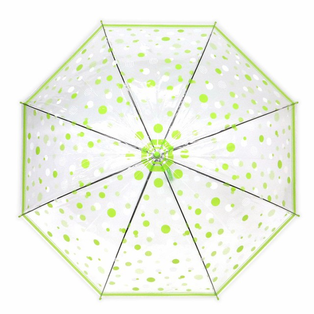 《58cm》ビニール傘 傘 レディース かわいい オシャレ 水玉 ドット柄