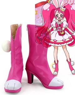 Gargamel コスプレ靴 KiraKira☆光之美少女 A La Mode 宇佐美いちか コスプレブーツm3056