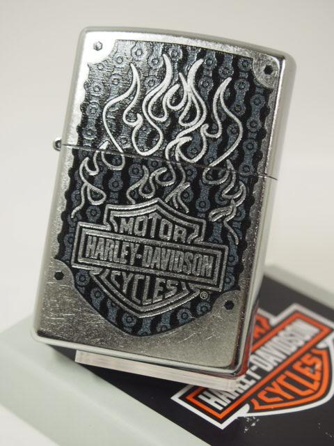 ジッポーZippo ハーレー/Harleyロゴ/#207クローム 29157(USA)新品USA