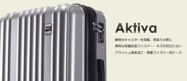 aa820d5983 AKTIBA(アクティバ) SSサイズ BBM-JAPANの軽量ファスナースーツケース 3サイズ